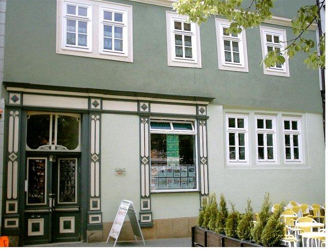 Georg Bräutigam Immobilien, Am Markt 6, 99310 Arnstadt, Sicht auf das Firmengebäude